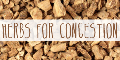 Herbs For Congestion