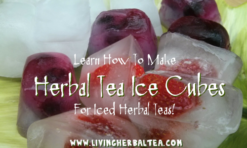 Iced Herbal Tea Cubes Recipe