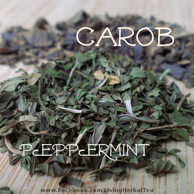 Carob Peppermint tags