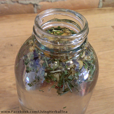 How To Cold Steep Herbal Tea 07