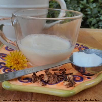 How to make dandelion root herbal tea