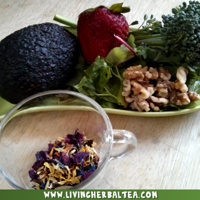 Herbal Tea Smoothie How To