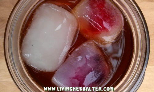 How To Make Iced Herbal Tea Ice Cubes