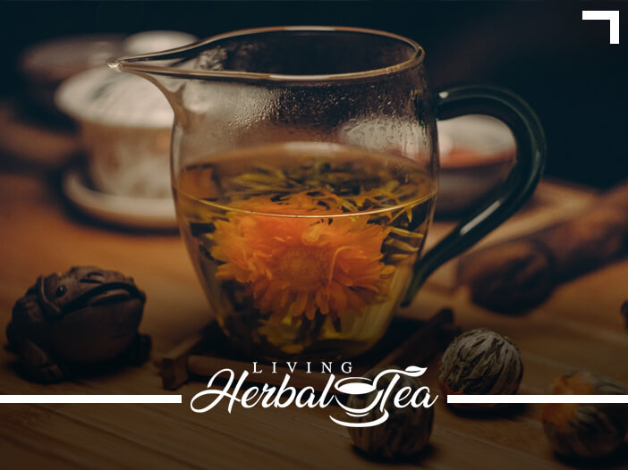 5 Floral Teas For Calming & Stress Relief